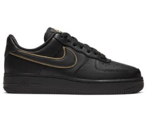 Nike Shoes Womens Air Force 1 07 Essential Black Gold