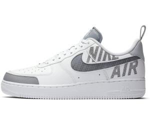 Schuhe Nike Air Force 1 '07 Leather wolf grau schwarz weiß