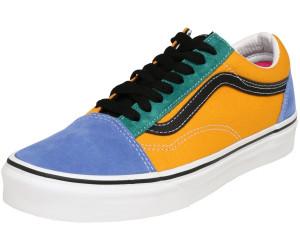VANS Mix & Match Old Skool Cadmium Yellow & Tidepool Shoes