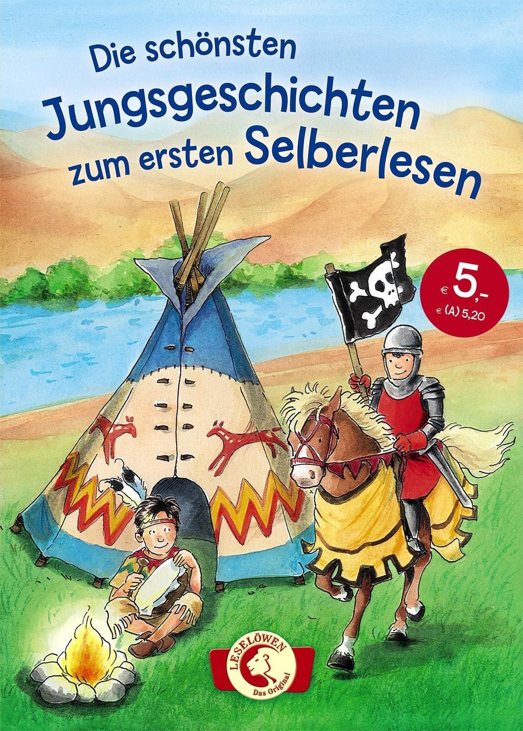 Image of Leselöwen - Das Original: Die schönsten Jungsgeschichten zum ersten Selberlesen (Katja Reider, Thilo, Julia Boehme)