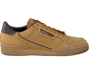 adidas Continental 80 Mesa Night Brown Eqt Yellow | Footshop