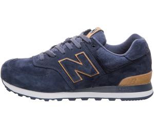 new balance 574 marron bleu