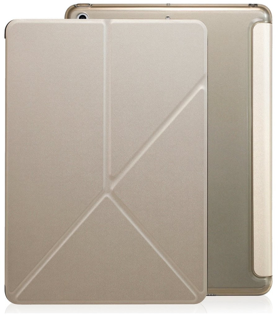 Image of Khomo Dual Origami Case iPad 9.7 2018 gold (KHO-1557)