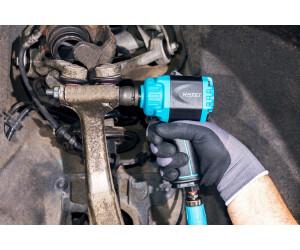 """Hazet 9012mtt Mini Twin Turbo Air comprimé Clé à chocs 1//2/"""" 1600 Presque comme neuf extra court"""