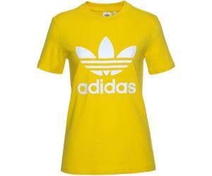 Adidas Originals Trefoil T Shirt Damen yellow (ED7495) ab 17