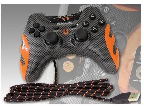 Image of X-Treme Controller Gamepad Carbon per PC/PS3