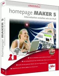 bhv Homepage Maker 5 (DE) (Win)