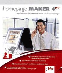 bhv Homepage Maker 4 Professional (DE) (Win)