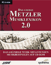 USM Das Große Metzler Musiklexikon (DE) (Win)