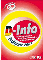 Buhl D-Info vor & zurück + Routenplaner Frühjah...