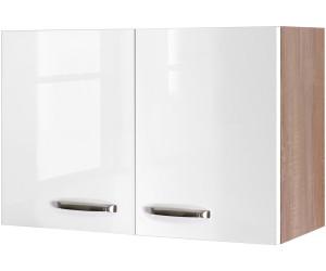 Küchen-Hängeschrank LUCCA Küchenschrank Oberschrank Küchenmöbel 1 Tür 60cm weiss