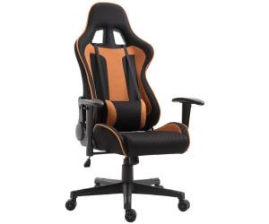 Sedie Da Ufficio Arancione.Homcom Sedia Da Ufficio Gaming In Tessuto Nero Arancione A 99 00