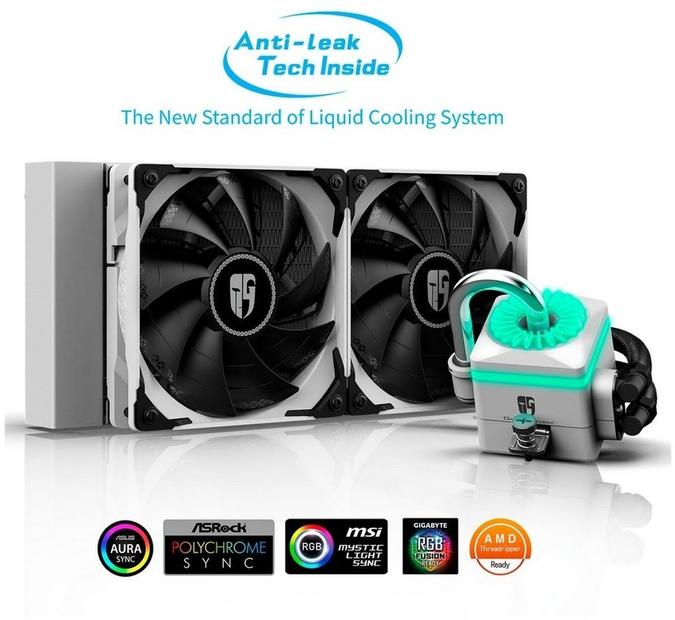 Image of Deepcool Captain 240X white