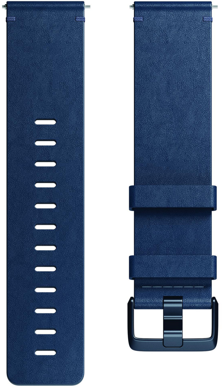 Fitbit Horween Leather Band Versa/Versa 2 Midnight Blue L