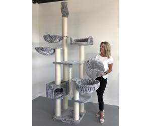 RHRQuality Kratzbaum Catdream de Luxe Light Grey