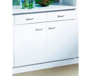 Optifit Küchenunterschrank Helsinki 100cm weiß ab 89,24 ...