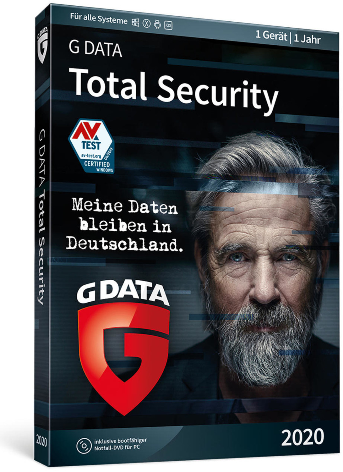 Image of G Data Total Security 2020 (1 Device) (1 Year)