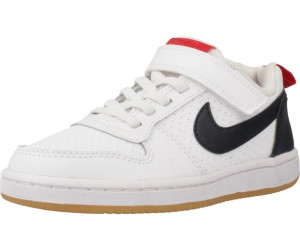 Nike Court Borough Low PSV (870025) blackblackblack ab 16
