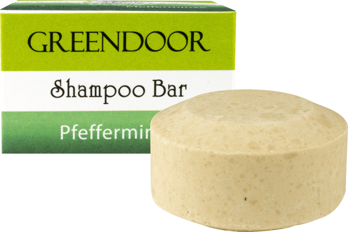 Greendoor Shampoo Bar Pfefferminze (75 g)