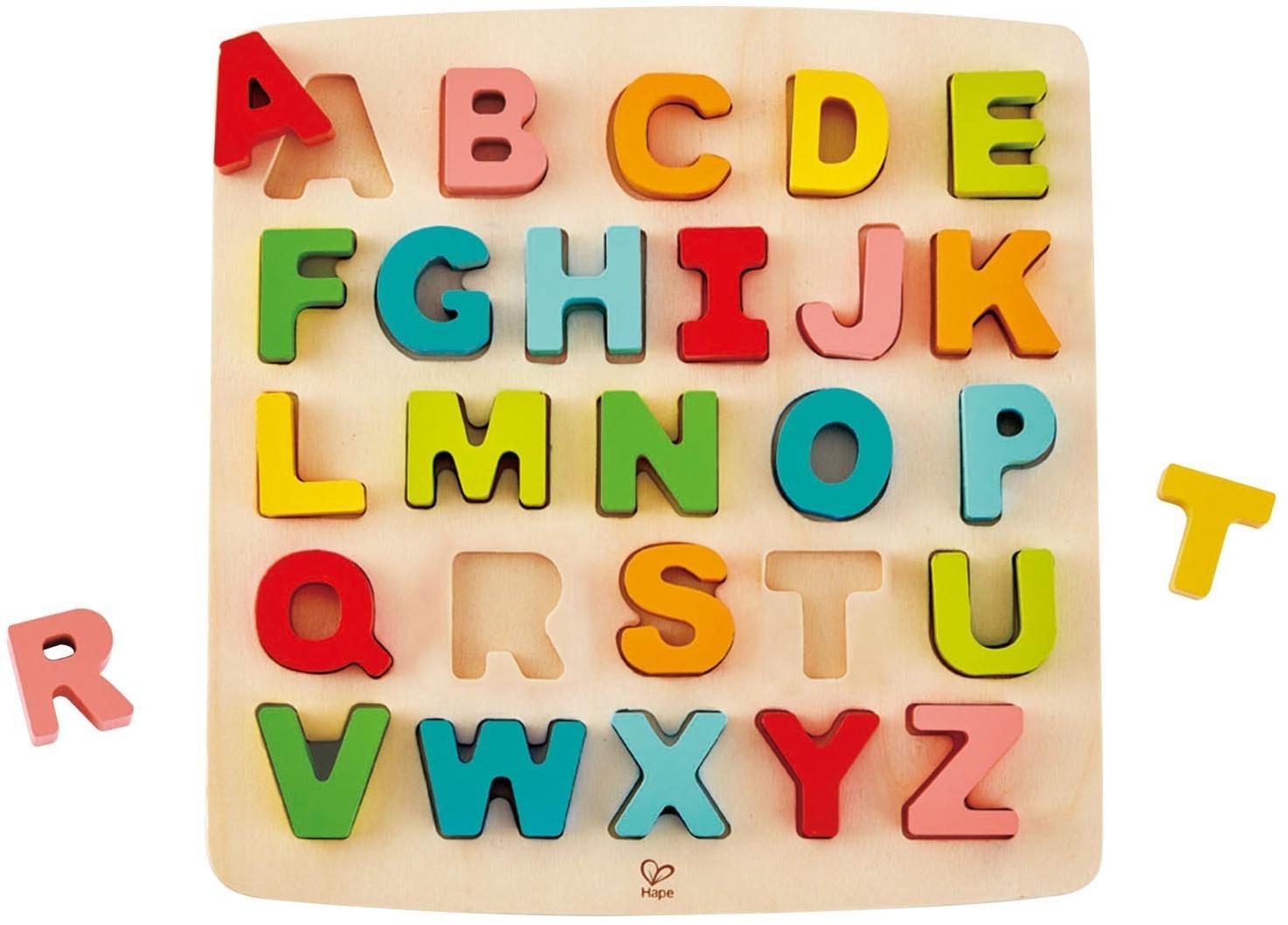 HaPe Puzzle mit Großbuchstaben