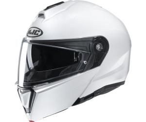 XS Motorradhelm HJC i90 Weiss Perle//PEARL WHITE Weiss