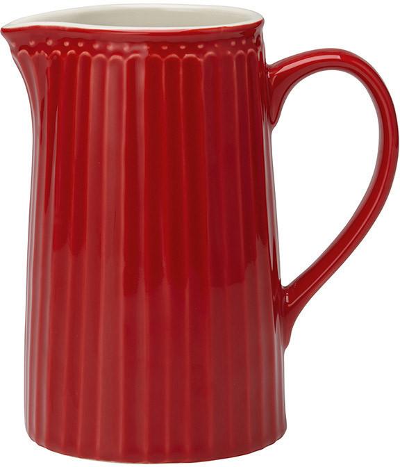 Greengate Alice Krug red 1l
