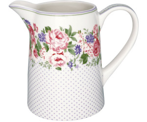 Greengate Rose Krug weiß 1 l