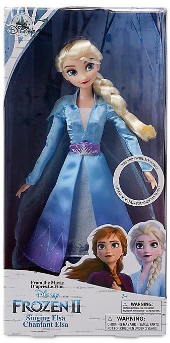 Disney Die Eiskönigin 2 - Singende Elsa Puppe