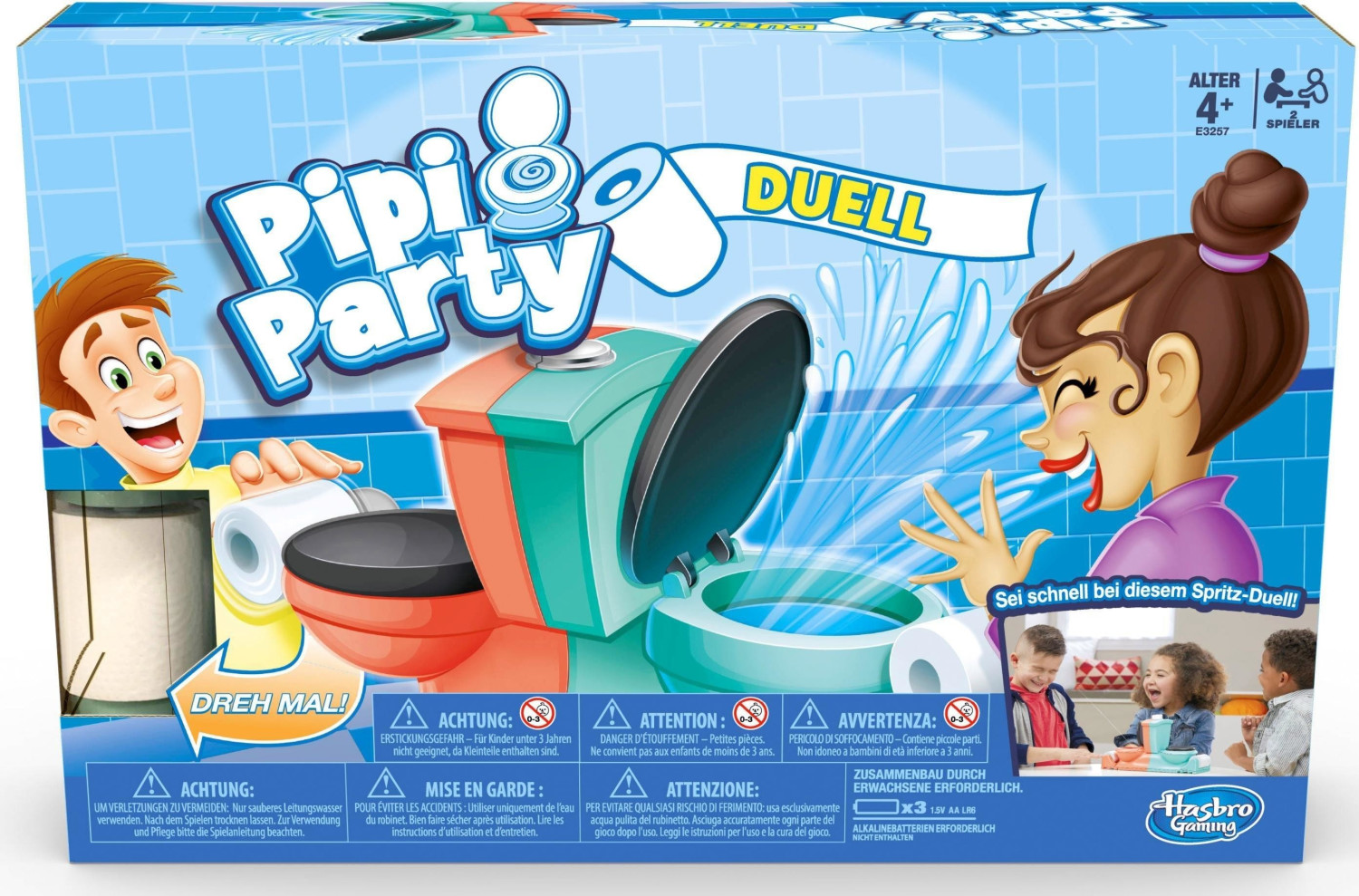Pipi Party Duell
