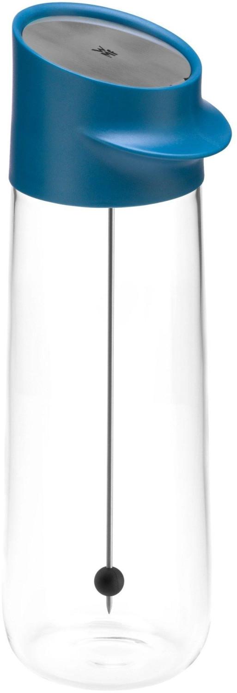 WMF Nuro Wasserkaraffe mit Fruchtspieß 1l blau