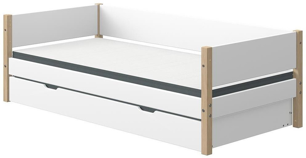 Flexa Kojenbett Nor 90 x 200 cm  (90-10815) weiß