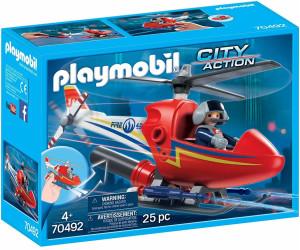 Playmobil Feuerwehr Löschhubschrauber (70492)