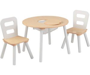 Kidkraft Runder Aufbewahrungstisch Mit 2 Stühlen Ab 5532
