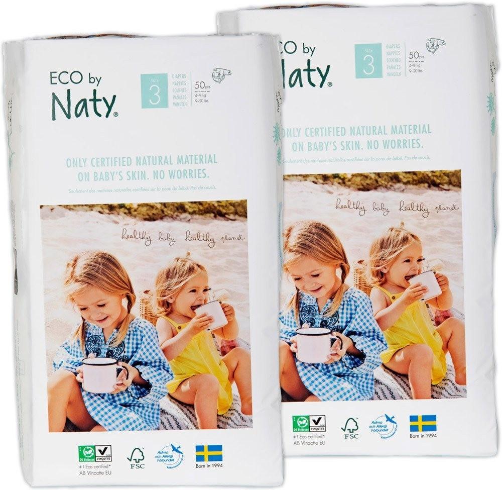 Naty Eco Größe 3 (4-9 kg) 100 Stk.