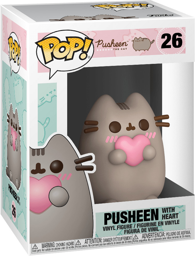Funko Pop! Pusheen - Pusheen with Heart