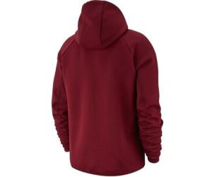 Buy Nike Men S Full Zip Hoodie Tech Fleece Team Red Black From 129 00 Today Best Deals On Idealo Co Uk