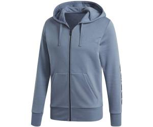 adidas Damen Essentials Linear Full Zip Hooded Kapuzen Jacke