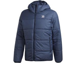 adidas Originals logo padded jacket in navy