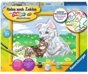 Ravensburger Malen Nach Zahlen Susse Tierkinder 28487 Ab 11 79 Preisvergleich Bei Idealo De