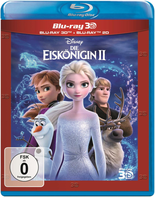 Die Eiskönigin 2 (3D) [Blu-ray]