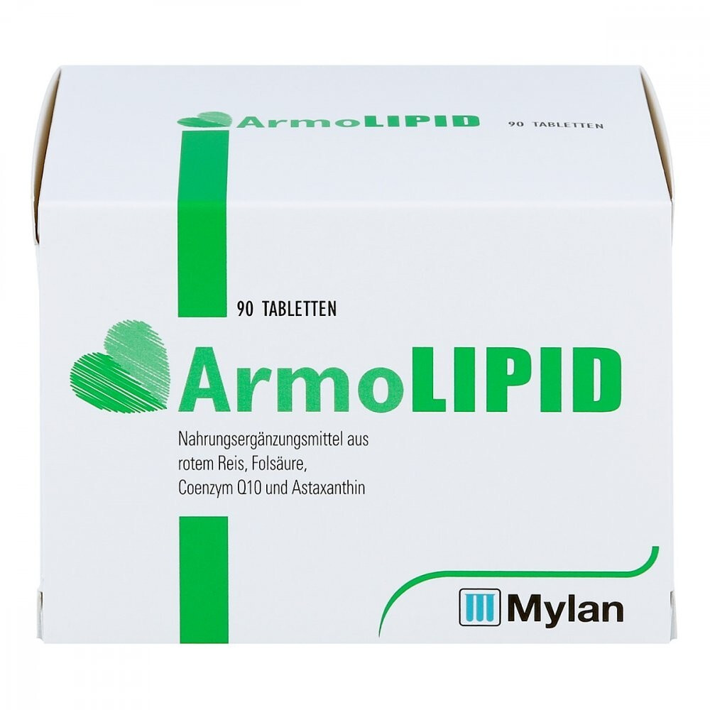 Image of Meda Pharma Armolipid compresse