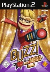 Buzz! - Das Mega Quiz + Buzzer (PS2)
