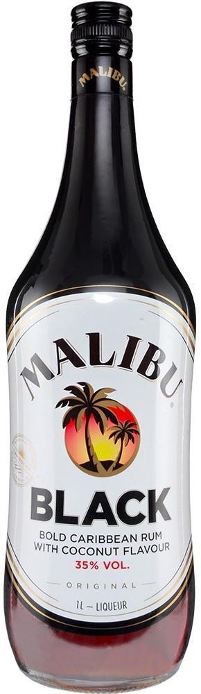 Malibu Black Rum 1l 35%