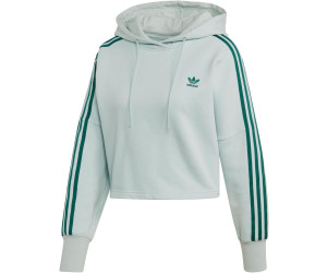 Adidas Women's Originals Cropped Hoodie vapour green (EJ9344