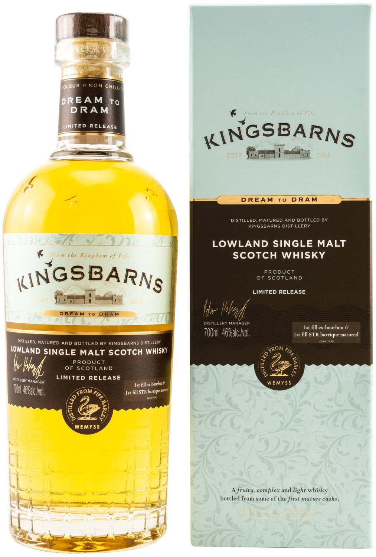 Kingsbarns Dream to Dram 2018 Lowland Single Malt Scotch Whisky 0,7l 46%