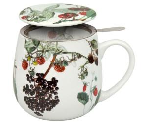 Teetasse mit Sieb und Deckel Beautiful she says Könitz