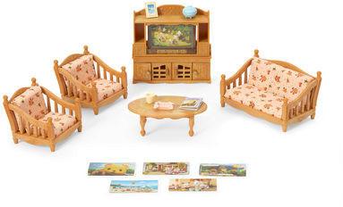 Sylvanian Families Wohnzimmer- und TV-Set (5287)