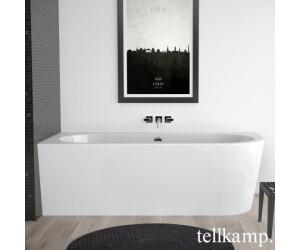 Tellkamp Pio Eck-Badewanne 178 x 78 cm  Ecke links weiß