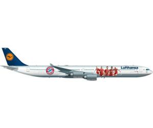 Herpa Lufthansa Airbus A340-60 FC Bayern (530897)
