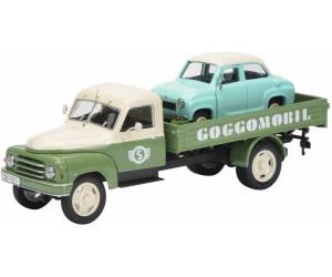 Schuco Hanomag L28 Pritsche mit Goggomobil